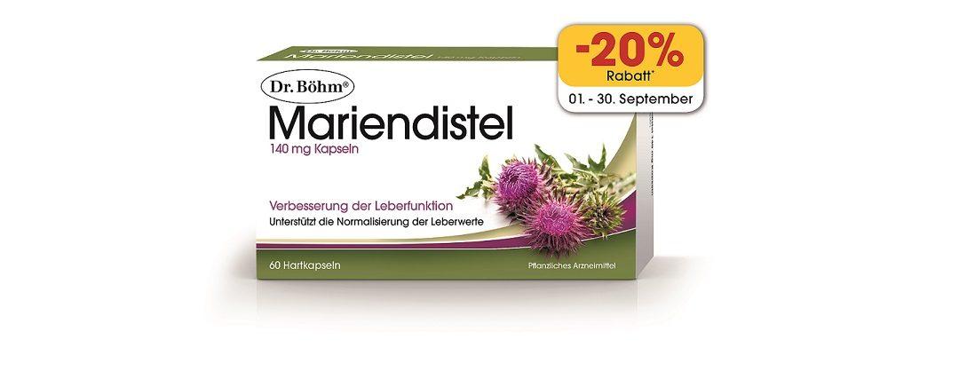 Dr. Böhm Mariendistel – Aktion